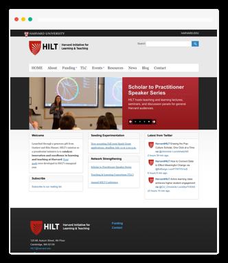 harvard website